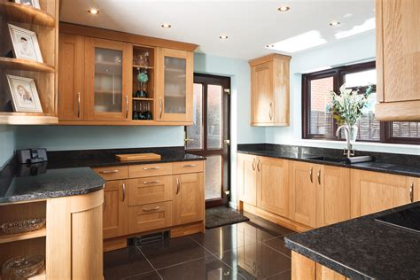 Real Oak Solid Wood Kitchen Units & Cabinets  Solid Wood