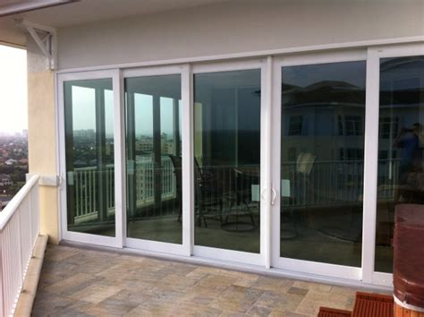hurricane sliding glass door in naples