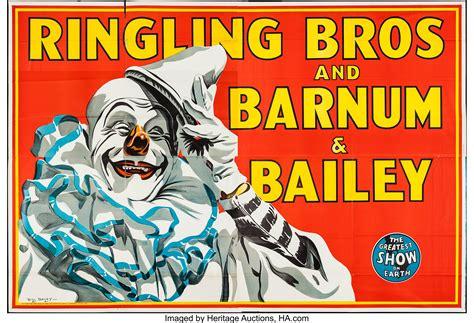 Circus Poster (Ringling Bros. and Barnum & Bailey, 1945 ...