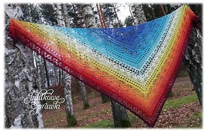 Shawl Crochet Ravelry Dafni Smile Janicka Julita