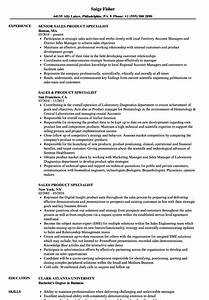 Sales Product Specialist Resume Samples