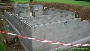 Mauersteine Beton Hohlkammersteine : tipps pool mit schalsteinen selber mauern pool selber ~ Frokenaadalensverden.com Haus und Dekorationen