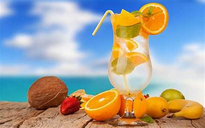 Cocktail Fruits Beach Morning Thursday Tropical Bar