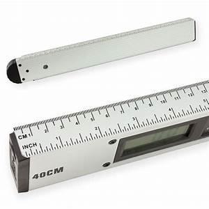 Wasserwaage Mit Winkelmesser : digitaler alu winkelmesser mit wasserwaage 40 cm ~ Watch28wear.com Haus und Dekorationen