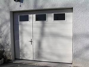 Lapeyre Porte De Garage : porte de garage basculante avec portillon lapeyre la ~ Melissatoandfro.com Idées de Décoration