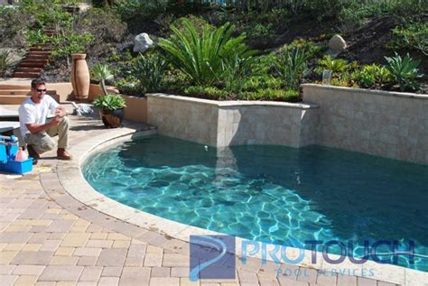 pool  hot tub cleaning   crosby estates protouch