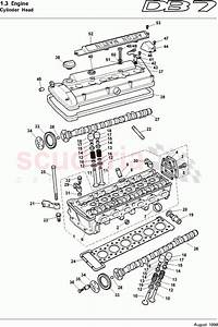 Aston Martin Db7  1995  Cylinder Head Parts