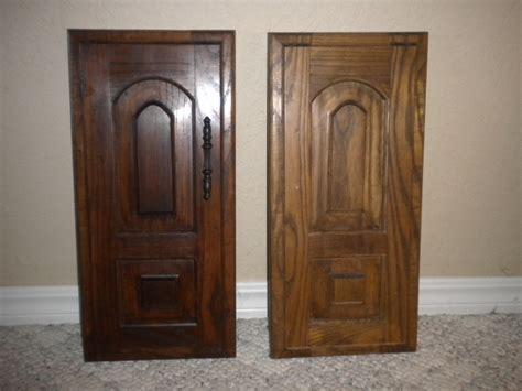 Furniture Great Door Using Java Gel Stain For Home