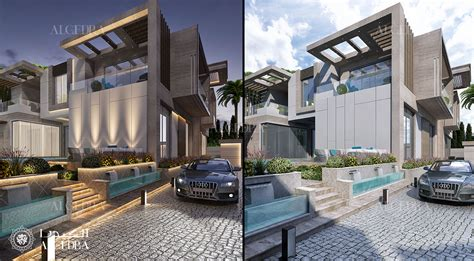 luxury modern family villa  dubai architect magazine