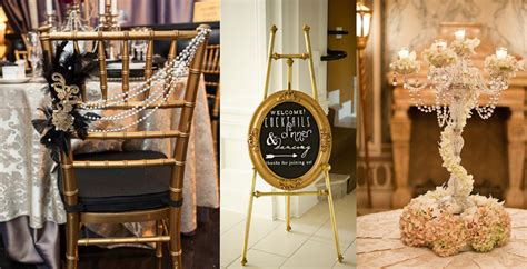The Great Gatsby Wedding Decor Inspiration And Ideas