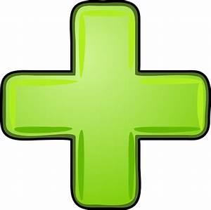 Plus Icon Green Clip Art at Clker.com - vector clip art ...