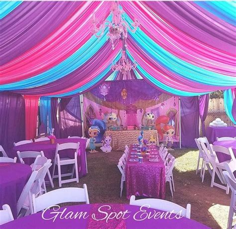 Princess Jasmine Party Decoration Ideas
