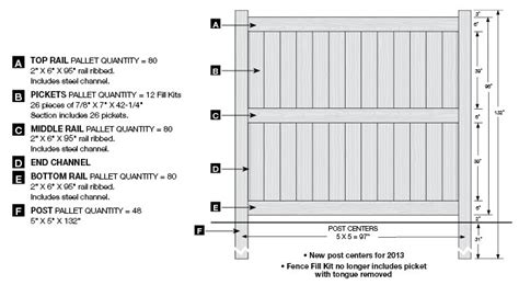 Galveston Certagrain Texture Weathered Blend Vinyl Fence