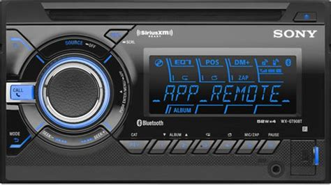 Sony Wx-gt90bt Double Din Car Stereo Bluetooth