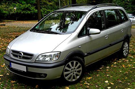 Opel Zafira 1999 On Motoimg.com