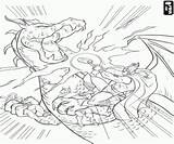 Thor Coloring Dragon Pages Viking Warrior Fighting God Against Friends Thunder Oncoloring sketch template
