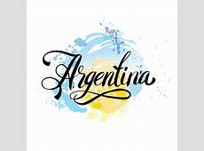 Argentina Vintage Card Poster Vector Illustration