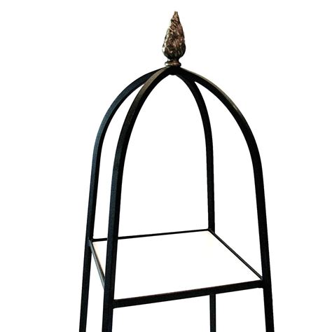 wrought iron etagere tommi parzinger style wrought iron and milk glass etagere