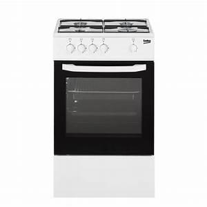 Four à Gaz Encastrable : beko csg42000wn cuisini re table gaz 4 foyers four ~ Premium-room.com Idées de Décoration
