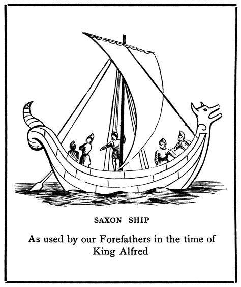 drawn viking anglo saxon pencil   color drawn
