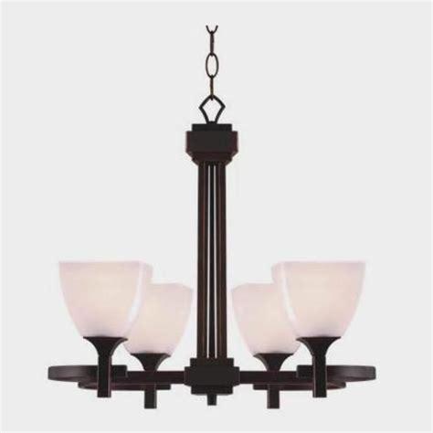 omega 4 light chandelier rubbed bronze finish at menards 174