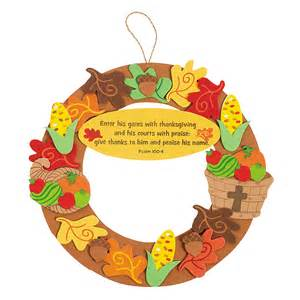 inspirational thanksgiving wreath craft kit trading