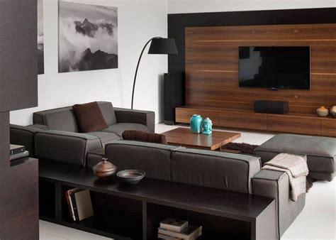 salon canapa noir daco bois salon noir et blanc et salon gris en 50 photos remarquables