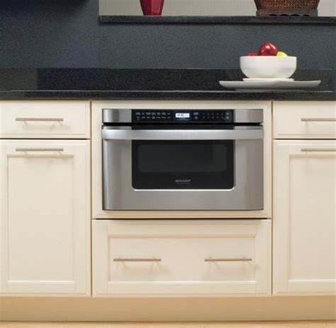 sharp drawer microwave 24 kb6524ps sharp 24 quot built in microwave drawer
