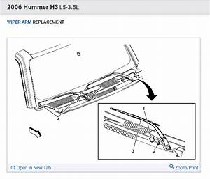 Wiper Motor Removal   Need Step By Procedure On Changing