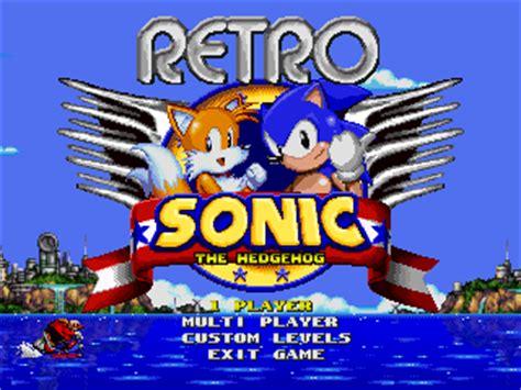 retro games wikipedia retro sonic sonic fanon wiki fandom powered by wikia