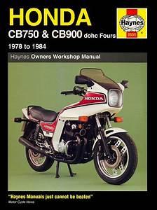 Honda Cb750 Dohc Fours Service Repair Manual 1978 1984