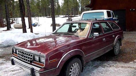 Walk Around And Start Up Of A 1987 Amc Eagle Wagon.