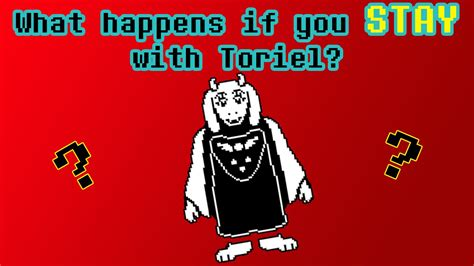 Undertale  What Happens If You Stay With Toriel??? Youtube