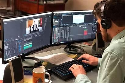 Editing Digital Platforms Documentary Development Editor Computers