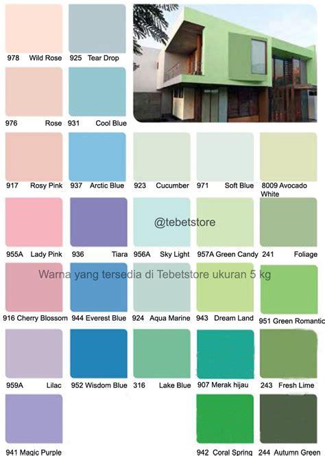 Harga Cat Tembok Merk Nippon Paint warna cat rumah merek vinilex dekorhom