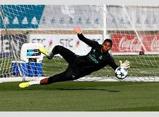 Keylor Navas has returned to training with the squad