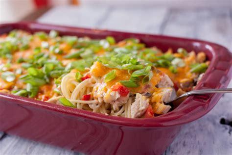 ro tel chicken spaghetti recipe genius kitchen