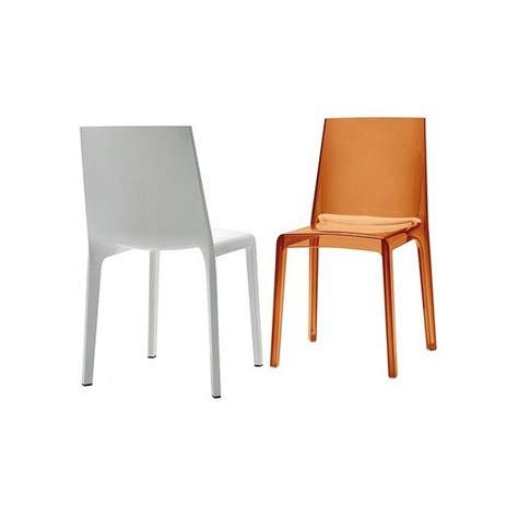 chaises polycarbonate chaise eveline en polycarbonate transparent de rexite