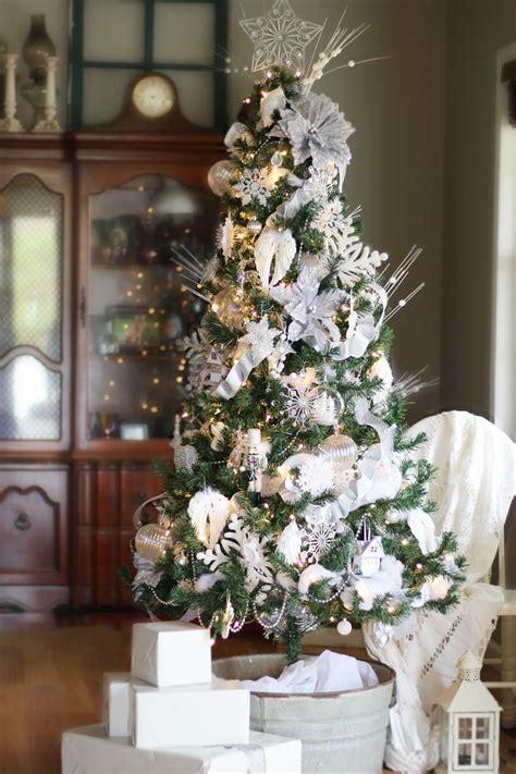 White Tree Decoration Ideas - winter white tree decorating ideas buy this