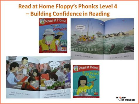 World Of Wonders Read At Home Floppy Phonics Collection (10 Books In 5 Levels