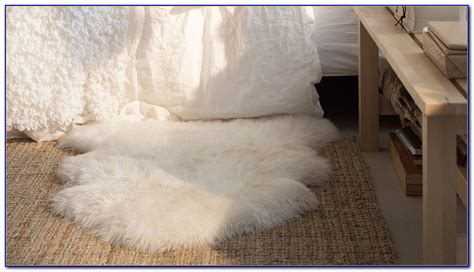 Sheepskin Rug Ikea by Real Sheepskin Rug Ikea Rugs Home Design Ideas