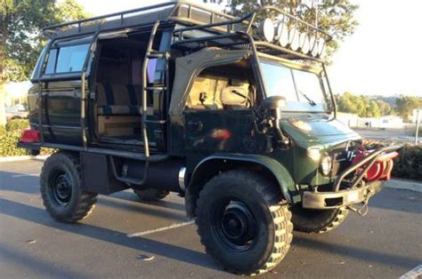 Unimog Cer For Sale by Classified Of The Week 1965 Unimog 4x4 For Sale