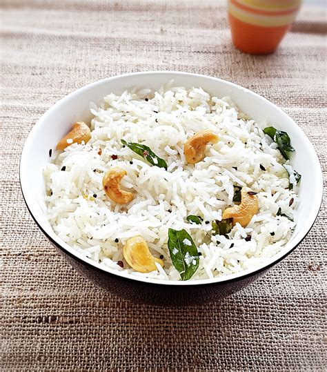 coconut rice recipe how to make easy indian coconut rice