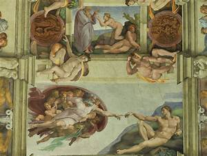 Sharing The World Together: Sistine Chapel Artwork