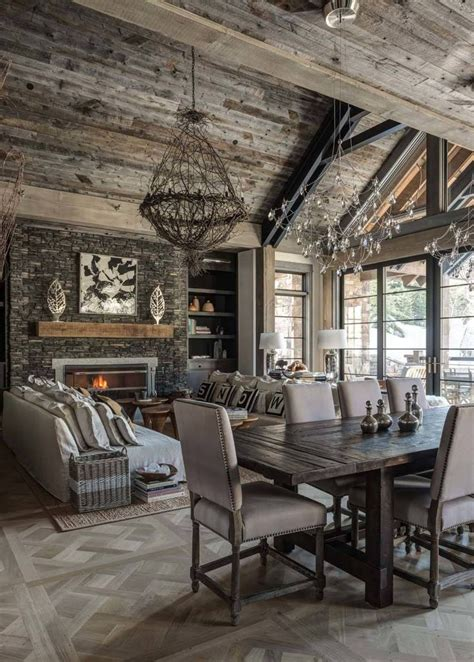 17 Best Ideas About Rustic Lodge Decor On