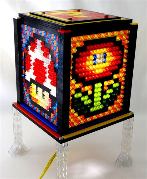 Mosaic Lego Lamp Lastminutegeschenkidee Und Tolle Super. Beds With Desks Underneath. Diy Height Adjustable Desk. Black Desk Chair. Counter Height Table With Bench. Desk Wire Hole Cover. Hickory Hardware Drawer Pulls. Cnc Plasma Cutting Table. 6 Drawer Storage Cart
