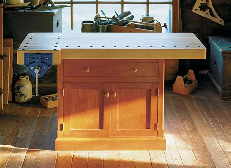 classic workbench woodworking project woodsmith plans