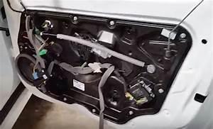 2012 Volvo S60 Removing Inner Black Door Panel Cover