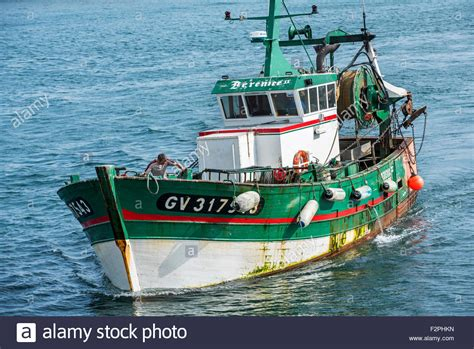 Images Of Boats At Sea by Fisherman On Board Of Green Wooden Trawler Fishing Boat At