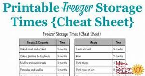 Freezer, Storage, Times, Chart, How, Long, Frozen, Food, Stays, Good